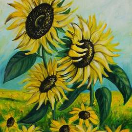 Teresa  Pascos - Sunflowers