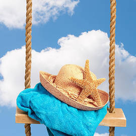 Sunhat On Swing - Amanda And Christopher Elwell