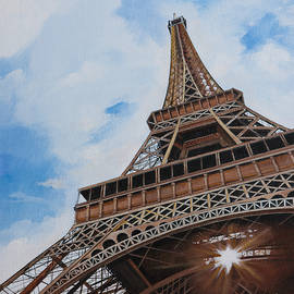 Bill Dunkley - Sunkissed Eiffel Tower