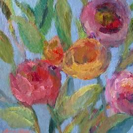 Mary Wolf - Sunlit Flower Garden