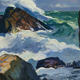 Sunlit Surf - George Bellows