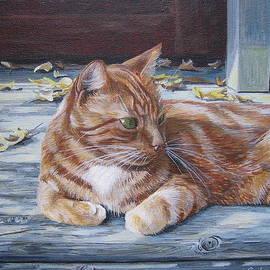 Anda Kett - Sunning on the Porch