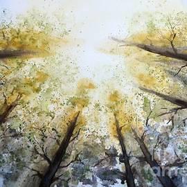 Nenad Kojic - Sunny mood - original watercolour landscape painting by Nenad Kojic