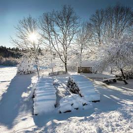Jack Milton - Sunny Morning After a Snow Storm