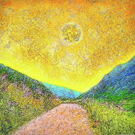 Joel Bruce Wallach - Sunny Trail - Marin California