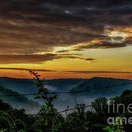 Thomas R Fletcher - Sunrise and Valley Fog