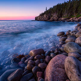 Jeff Sinon - Sunrise At Boulder Beach Acadia NP