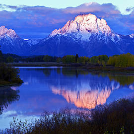 Gary Langley - Sunrise at Ox Bow Bend