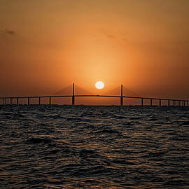 Michael White - Sunrise at the Skyway Bridge 2