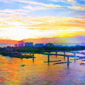 Alice Gipson - Sunrise Colors Over The Halifax