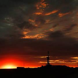 Jeff  Swan - Sunrise in North Dakota