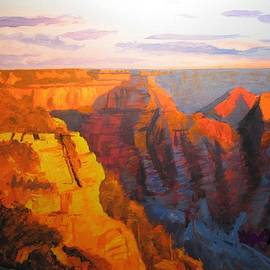 Clay Purviance - Sunrise in The Canyon