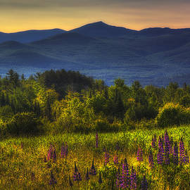 Joann Vitali - Sunrise in the White Mountains of New Hampshire