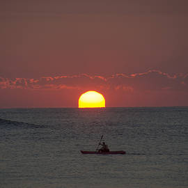 Bill Cannon - Sunrise- Kayaking in Ocean City