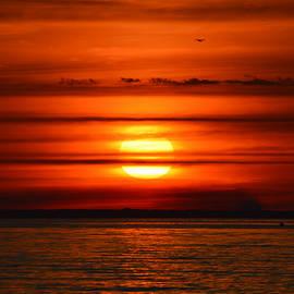 Dianne Cowen - Sunrise Meditation Over Cape Cod Bay