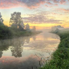 Veikko Suikkanen - Sunrise on a misty river