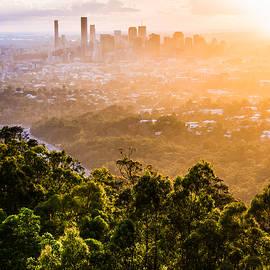 Parker Cunningham - Sunrise Over Brisbane