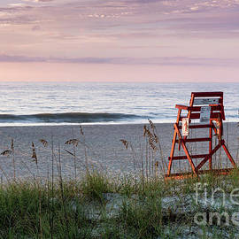 Dawna Moore Photography - Sunrise over Lifeguard Chair #1