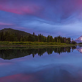 Andrew Soundarajan - Sunrise Panorama at Oxbow Bend