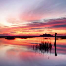Jo Ann Tomaselli - SUNRISE SUNSET ART PHOTO - SAILING by Jo Ann Tomaselli