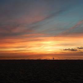 Susan Wyman - Sunset with Lighthouse