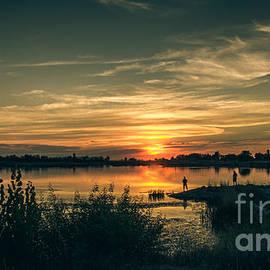 Robert Bales - Sunset And Fishing