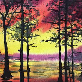 Irina Sztukowski - Sunset And Trees