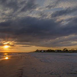 Bill Cannon - Sunset at Cape May Lighthouse