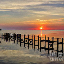Jeff Breiman - Sunset At Duck OBX