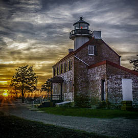 Nick Zelinsky - Sunset at East Point Lighthouse