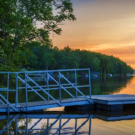 Ken Morris - Sunset at Kearney Lake