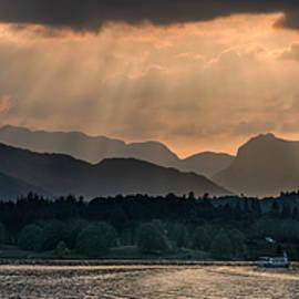 Jaroslaw Blaminsky - Sunset at Lake District