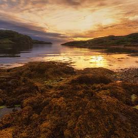 Derek Beattie - Sunset at Loch Kirkaig