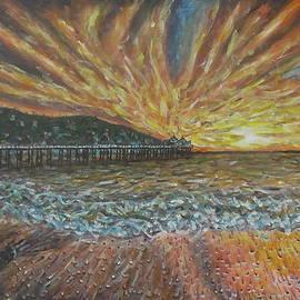 Robbie Nuwanda - Sunset At Sea