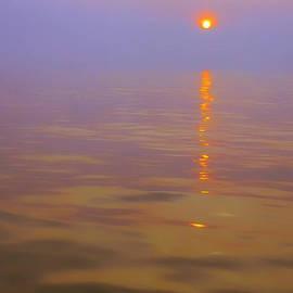 Thomas R Fletcher - Sunset at Sea
