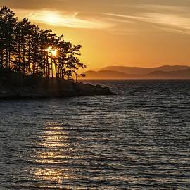 NaturesPix  - Sunset at Sucia Island