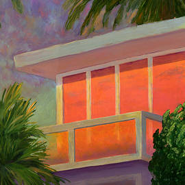 Karyn Robinson - Sunset at the Beach House