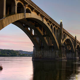 Dan Myers - Sunset At The Columbia - Wrightsville Bridge