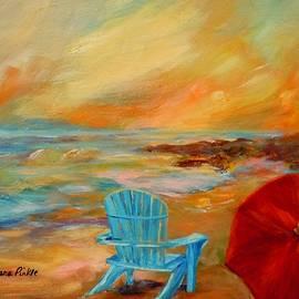 Barbara Pirkle - Sunset at the Jetty