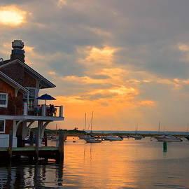 Marcel  J Goetz  Sr - Sunset At The Marina