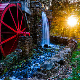 Lilia D - Sunset at the Mill