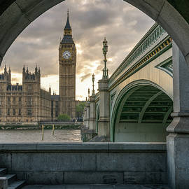 Sunset at Westminster - James Udall