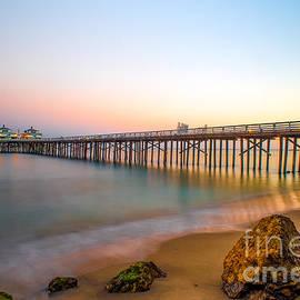 Art K - Sunset by Malibu Pier