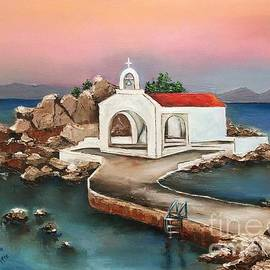 Viktoriya Sirris - Sunrise By Sant Isidoros Church