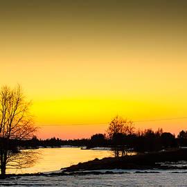 Jukka Heinovirta - Sunset By The River
