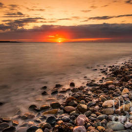 Adrian Evans - Sunset Deganwy Beach