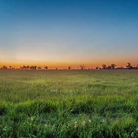 Sunset Fields - Az Jackson