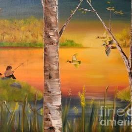 Denise Tomasura - Sunset Fishing