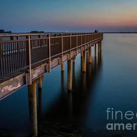 Darleen Stry - Sunset Fishing Pier