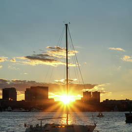 Lilia D - Sunset in Boston